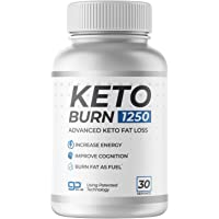 Keto Burn 1250 30 Servings The ONLY Keto Pill That Uses Patented Fat Loss Technology!