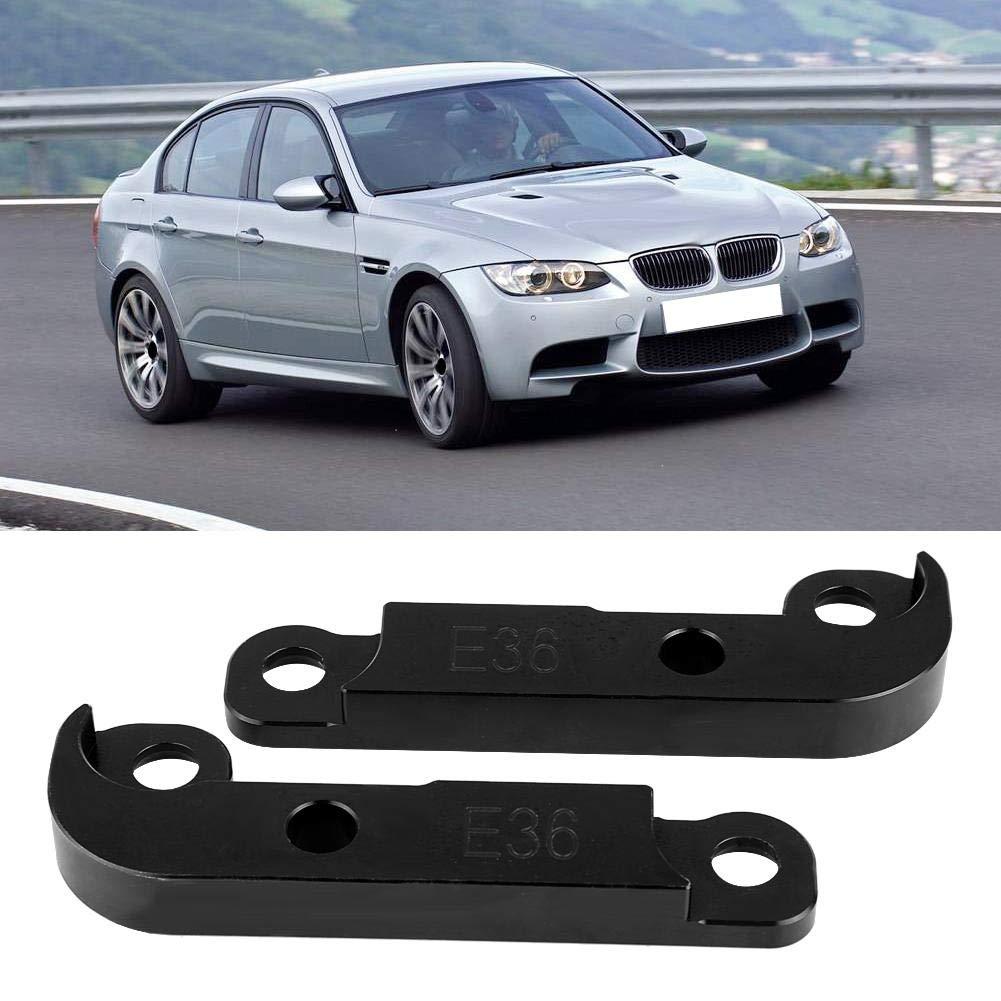 ajuste de potencia de aluminio Kit de adaptador de bloqueo de deriva /Ángulo de giro creciente 25/% para E36 negro Yctze Kit de bloqueo de deriva