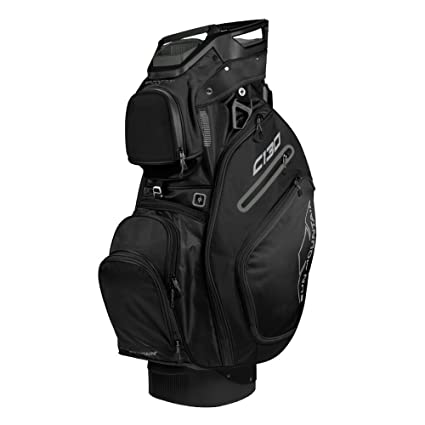 Amazon.com   Sun Mountain Golf 2018 C-130 Cart Bag Black (Black ... 39014dba09189