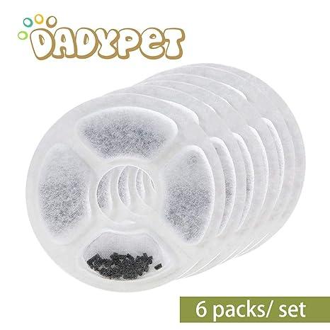 Amazon.com: Juego de 6 filtros para fuente de flores ...