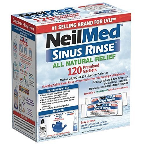 NeilMed Natural Relief Premixed Packets