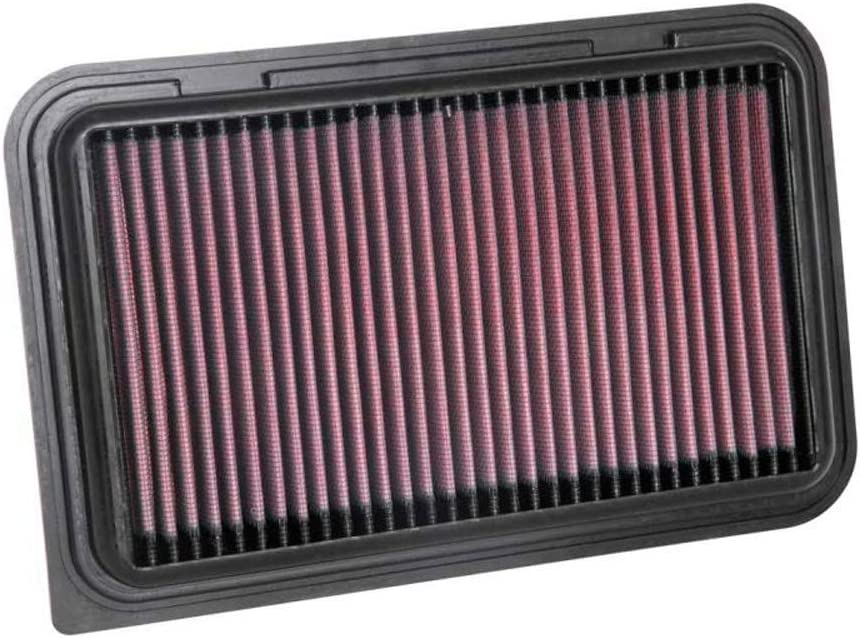 33-3126 K/&N Air Filter Compatible with Swift V 2017-// Ignis 1.2 2016-