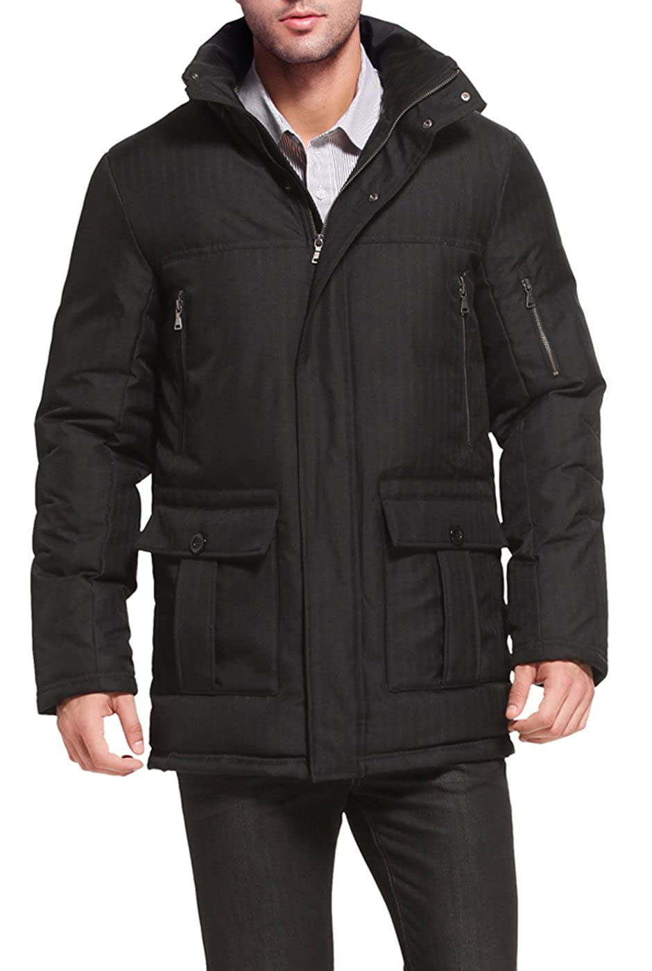 BGSD Men's David Waterproof Hooded Down Coat