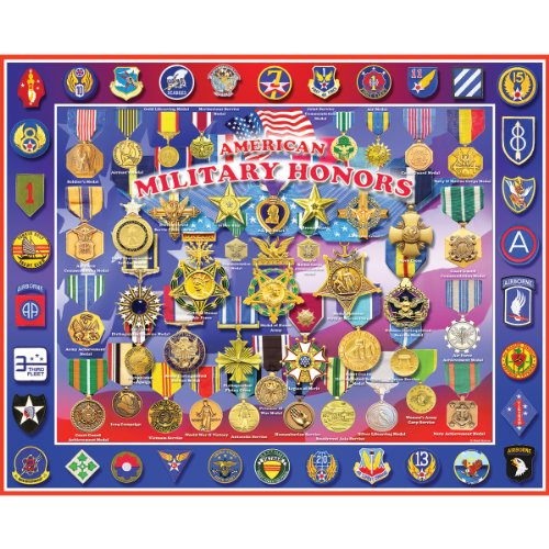 1000 piece puzzles military - 2