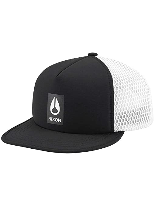 Nixon Flyer Trucker Hat, Color: Black, Talla: One Size: Amazon.es ...