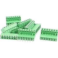 sourcingmap® 6 pares Conector de bloque de terminales