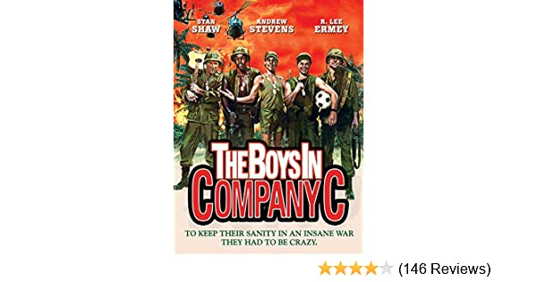 The boys in company C poster print