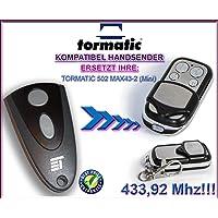STA 502max43–2(Mini) compatible handsender, 4de canal para emisor
