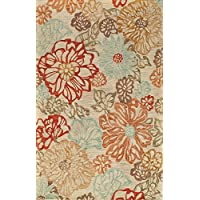 Momeni Rugs TANGITAN11BGE2030 Tangier Collection, 100% Wool Hand Tufted Tip Sheared Transitional Area Rug, 2 x 3, Beige