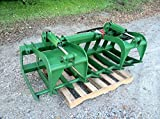 72'' Root Grapple Bucket Attachment for John Deere 200 300 400 500 Loaders deer