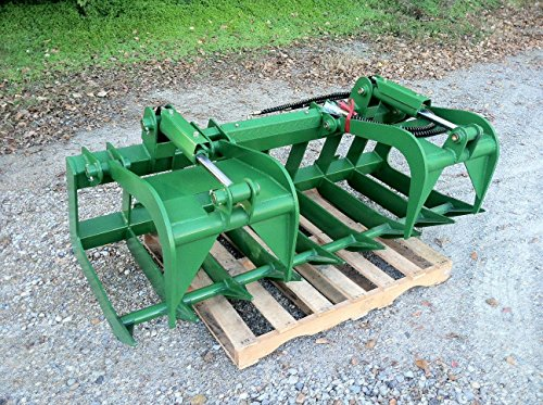 72'' Root Grapple Bucket Attachment for John Deere 200 300 400 500 Loaders deer by Titan Attachments