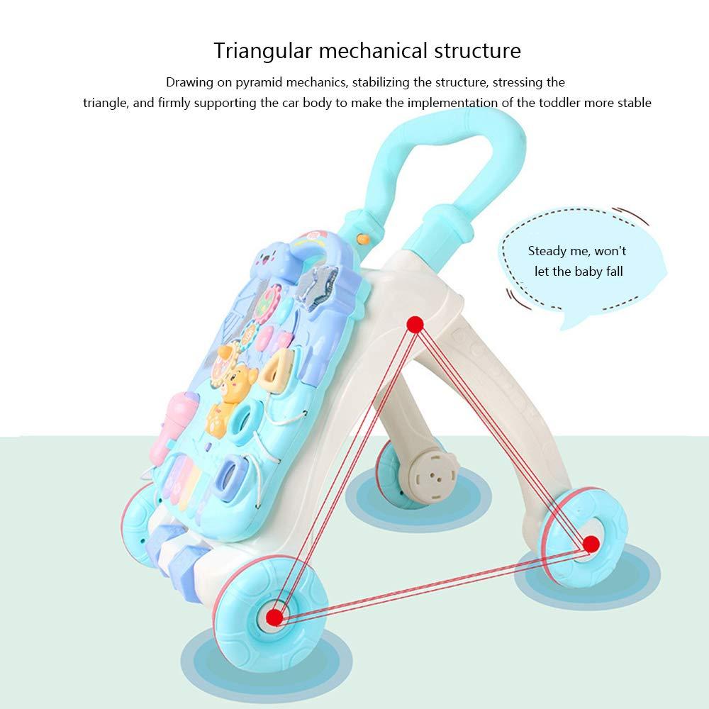 CHAOLIU 2 de Cada 1 niños bebés Sonidos Musicales Actividad Push ...