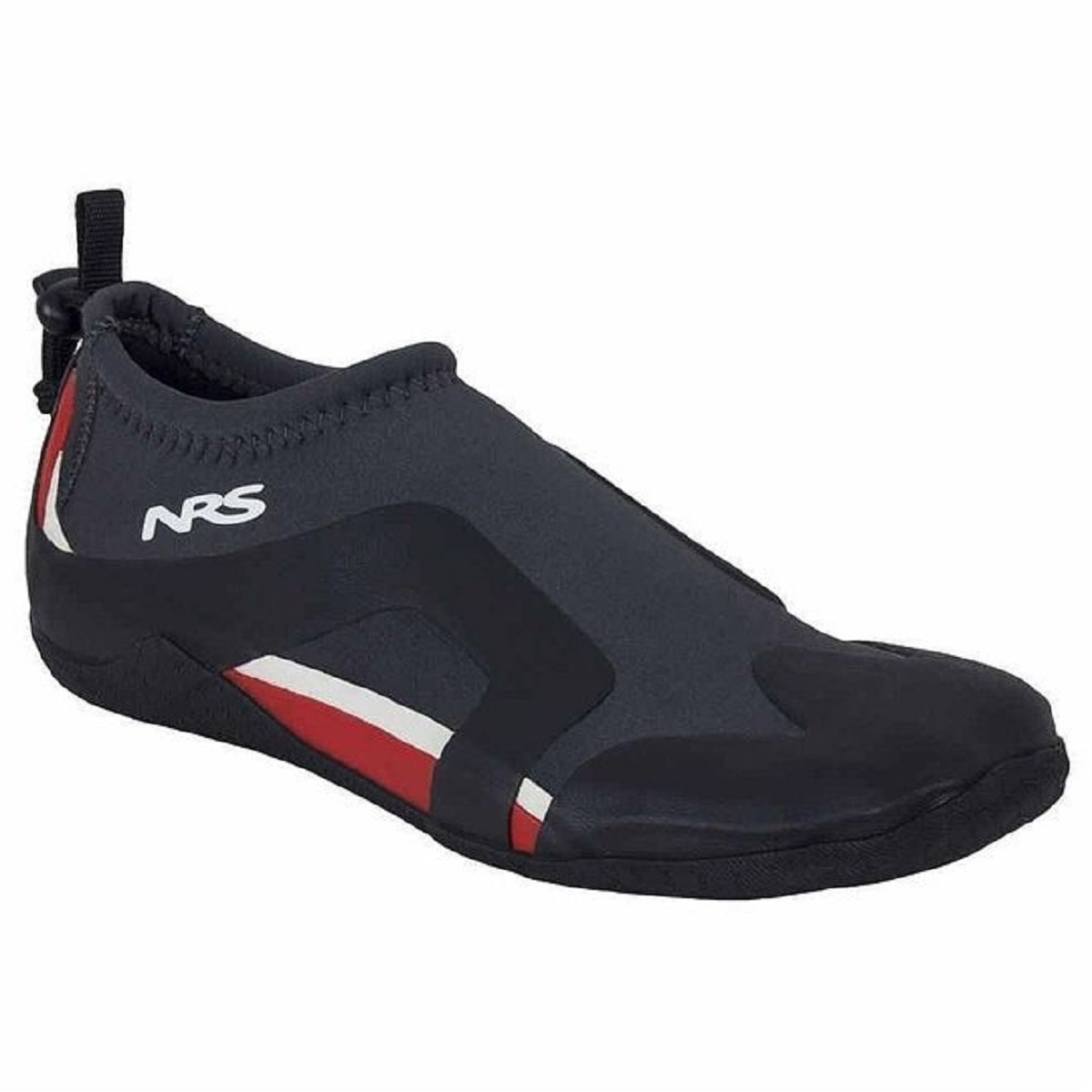 NRS Kinetic Water Shoe, Color: Black/Red, Size: 11 (30042.01.106) by NRS