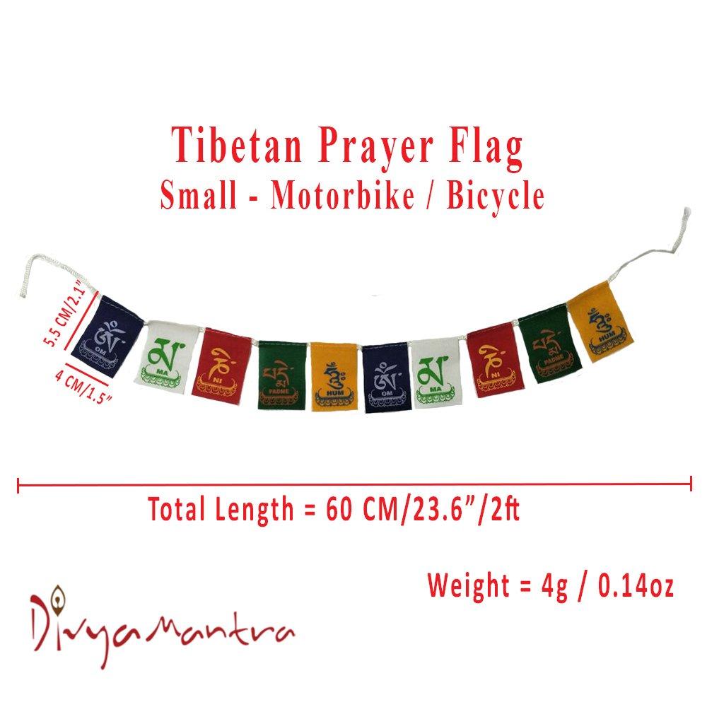 Buy Aaradhi Divya Mantra Tibetian Buddhist Prayer Flags For