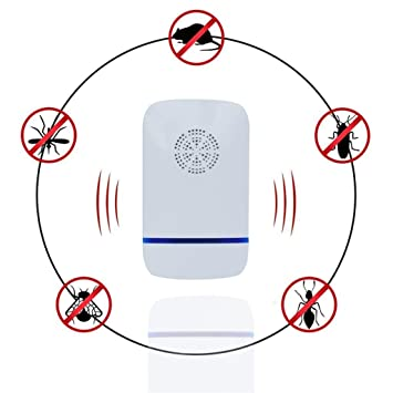 repelentes ultrasónicos Multi-Funcional Ultrasonido Inicio Electrónico Enchufe En Inicio Pest Control, Roedores &