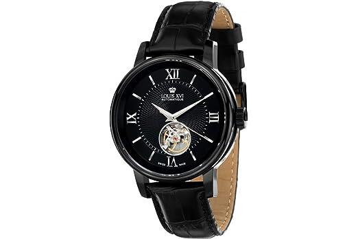 Louis xvi montre de bracelet le louvre le noir swiss made