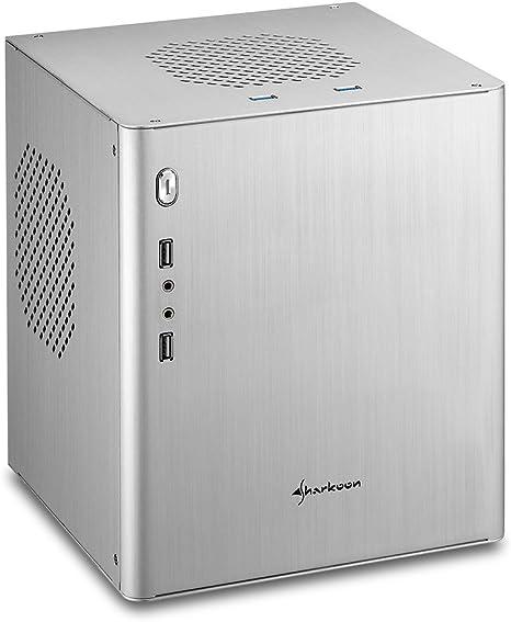 Sharkoon CA-I Mini-Tower Plata Carcasa de Ordenador - Caja de ...