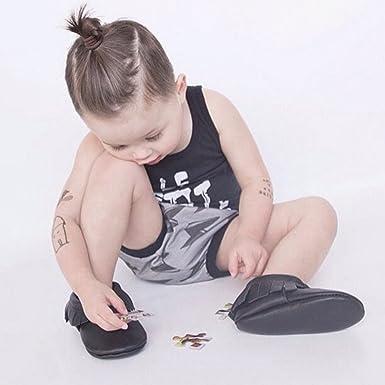 hibote Pack de 2 pantalones de verano los niños pantalones cortos bebé pan Niño lindo calzoncillos de algodón de la ropa interior del relámpago / 80: Amazon.es: Ropa y accesorios