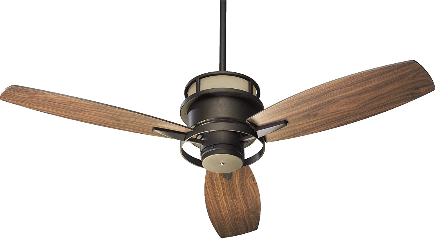 Quorum 54543 86 bristol oiled bronze uplight 54 ceiling fan with wall control ceiling fans with lights amazon com