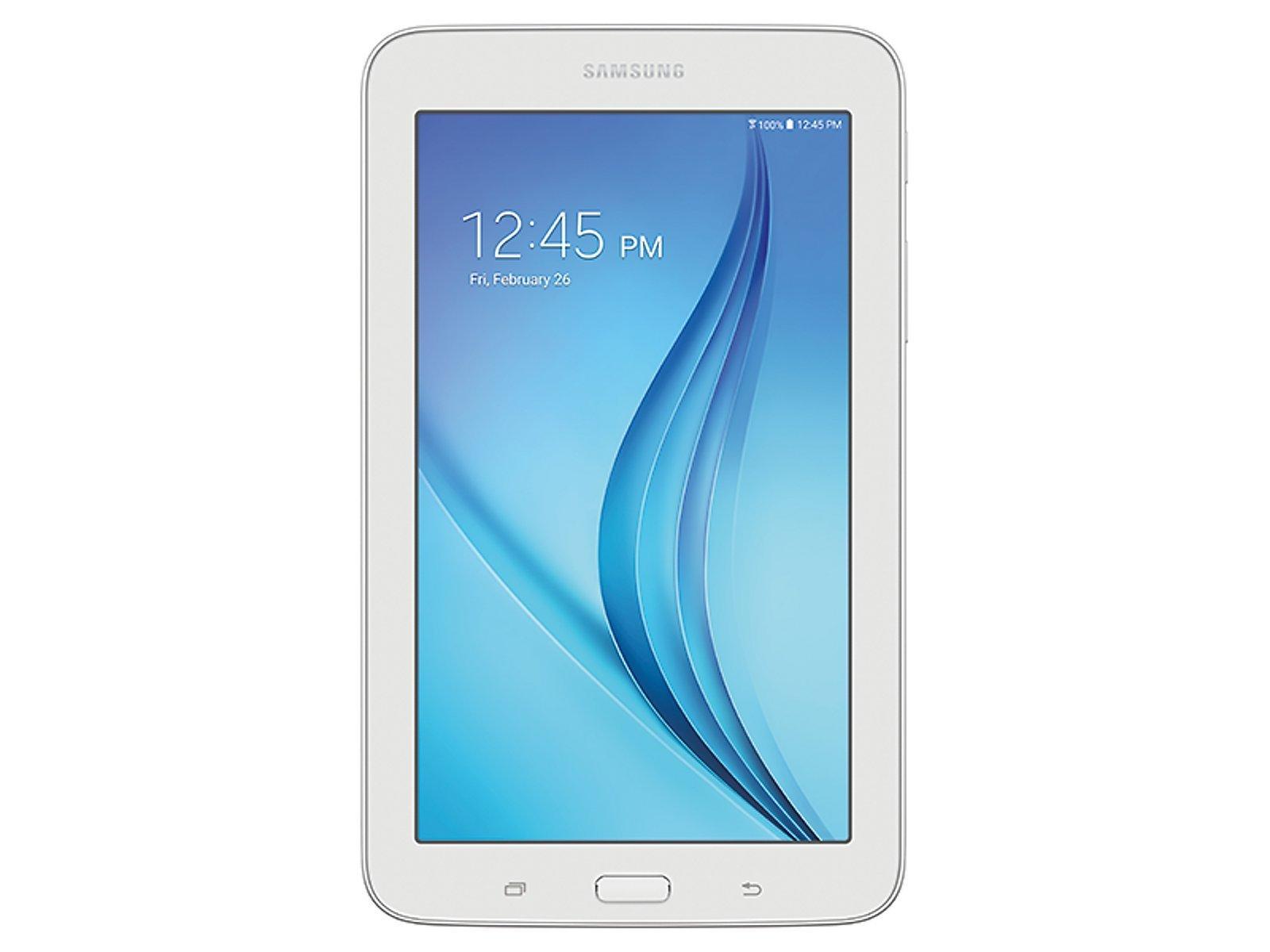 Samsung Galaxy Tab E Lite 7.0'' 8GB Wi-Fi (White) (Certified Refurbished) by Samsung
