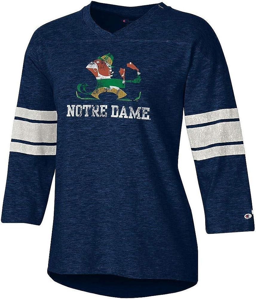Elite Fan Shop NCAA Womens Slub Football Tshirt