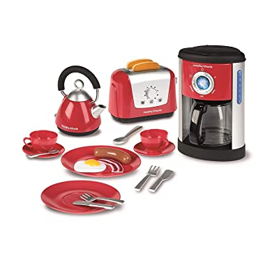 Casdon Morphy Richards Kitchen Set Toy - Kettle, Toaster and Coffee Machine: Toys & Games