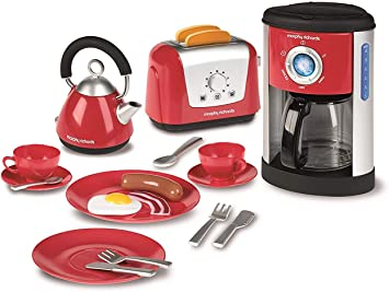 Red Morphy Richard's Kitchen Set