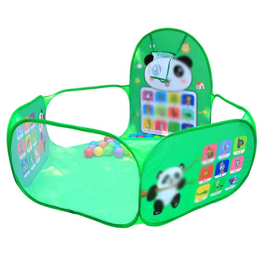 Yxsd Baby Playpen, Children's Cartoon Indoor and Outdoor Playground Foldable