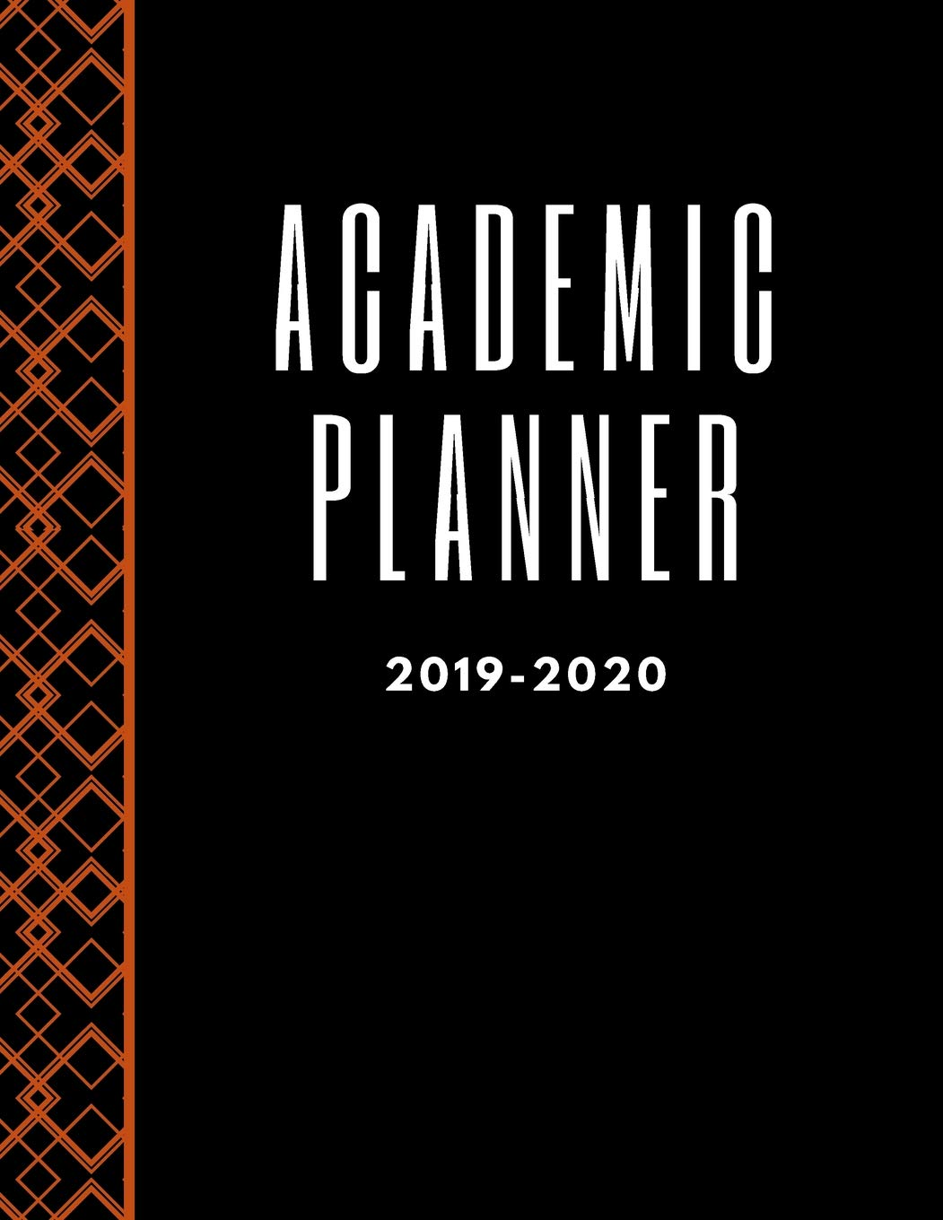 Academic Planner: Beautiful Colorful 2019-2020 Teacher ...