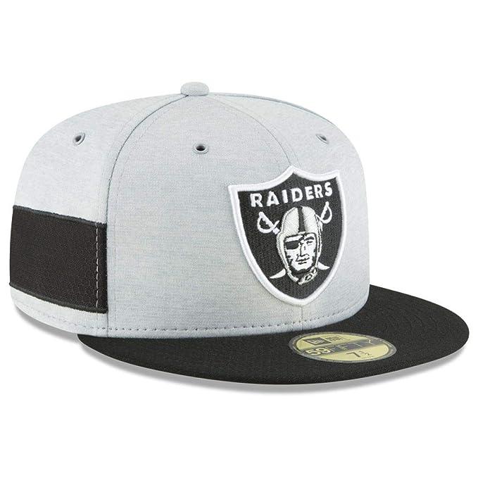 New Era Berretto Aderente NFL Sideline 59Fifty Home Oakland Raiders  Official Tea  Amazon.it  Abbigliamento 4bd65ec664b2