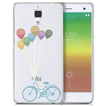 Funda carcasa TPU Transparente para Xiaomi Mi4 diseño ...