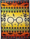 Pendleton Unisex Harry Potter - Harry's Journey Jacquard Blanket (Kids) Orange One Size