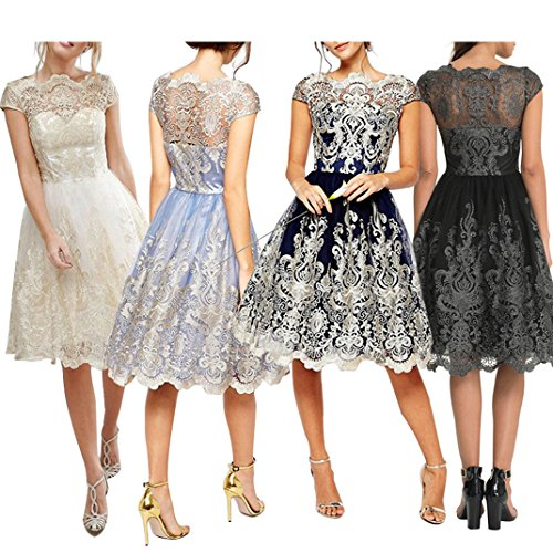Dress Blingdeals Homecoming Line Prom Dress Purple Embroidery Women's Lace A Zqgr8Zw