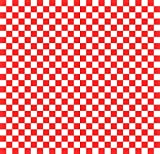 Wax Paper Food Basket Liners - Deli / BBQ Sandwich Wrap - Red / White Checkered - 500 Square Sheets 12x12''