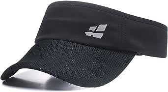 Sun Visor for Men Women,Premium Sports Tennis Golf Running Hat, Mesh Adjustable Cap