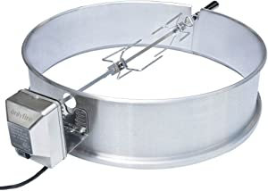 Charcoal Kettle Rotisserie Ring Kit for Weber