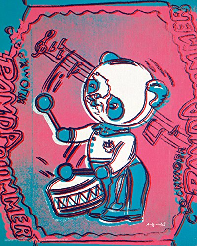 Andy Warhol Panda Drummer Celebrity Pop Art Icon Poster Print 16 by 20