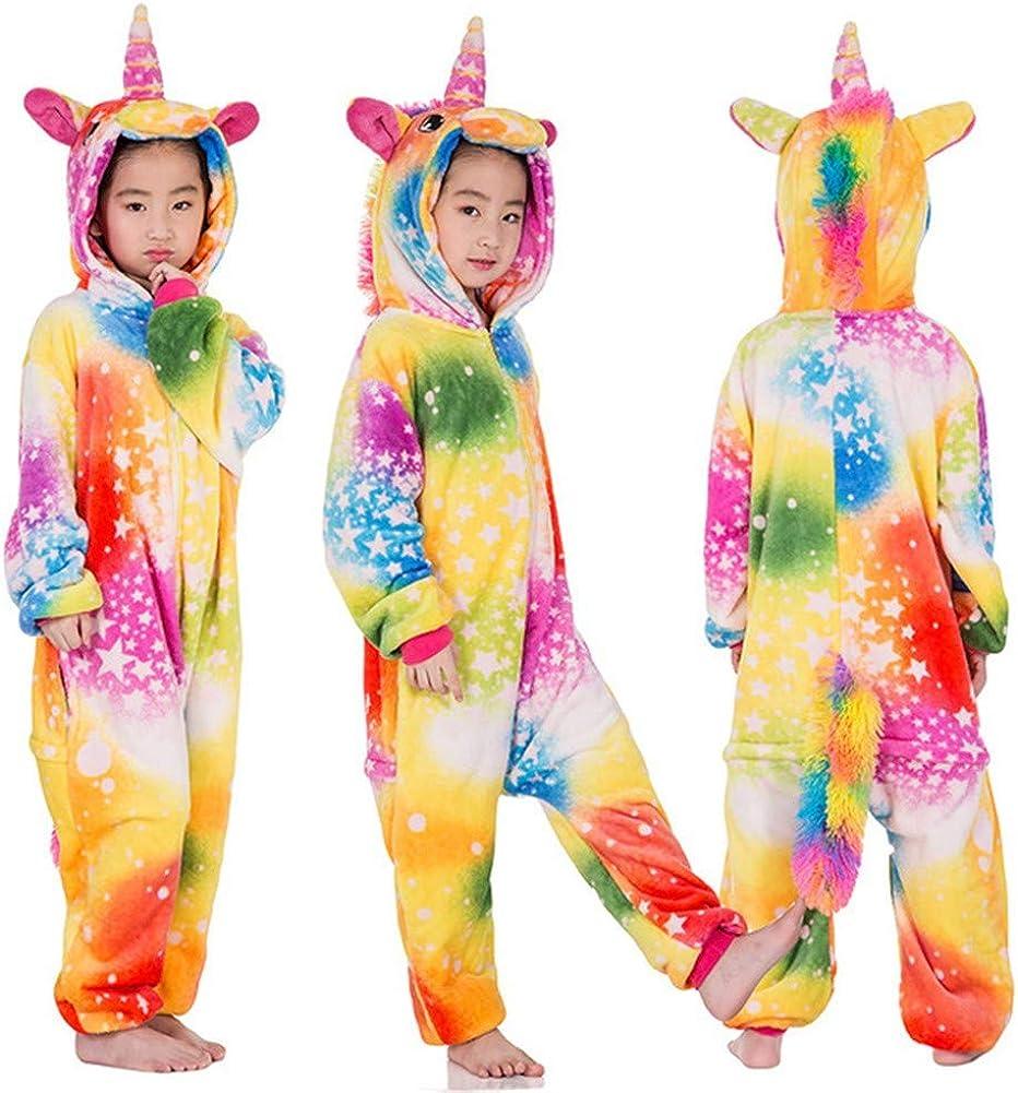 Niños Unisexo Onesies Pijamas Pijamas de Unicornio para niñas ...