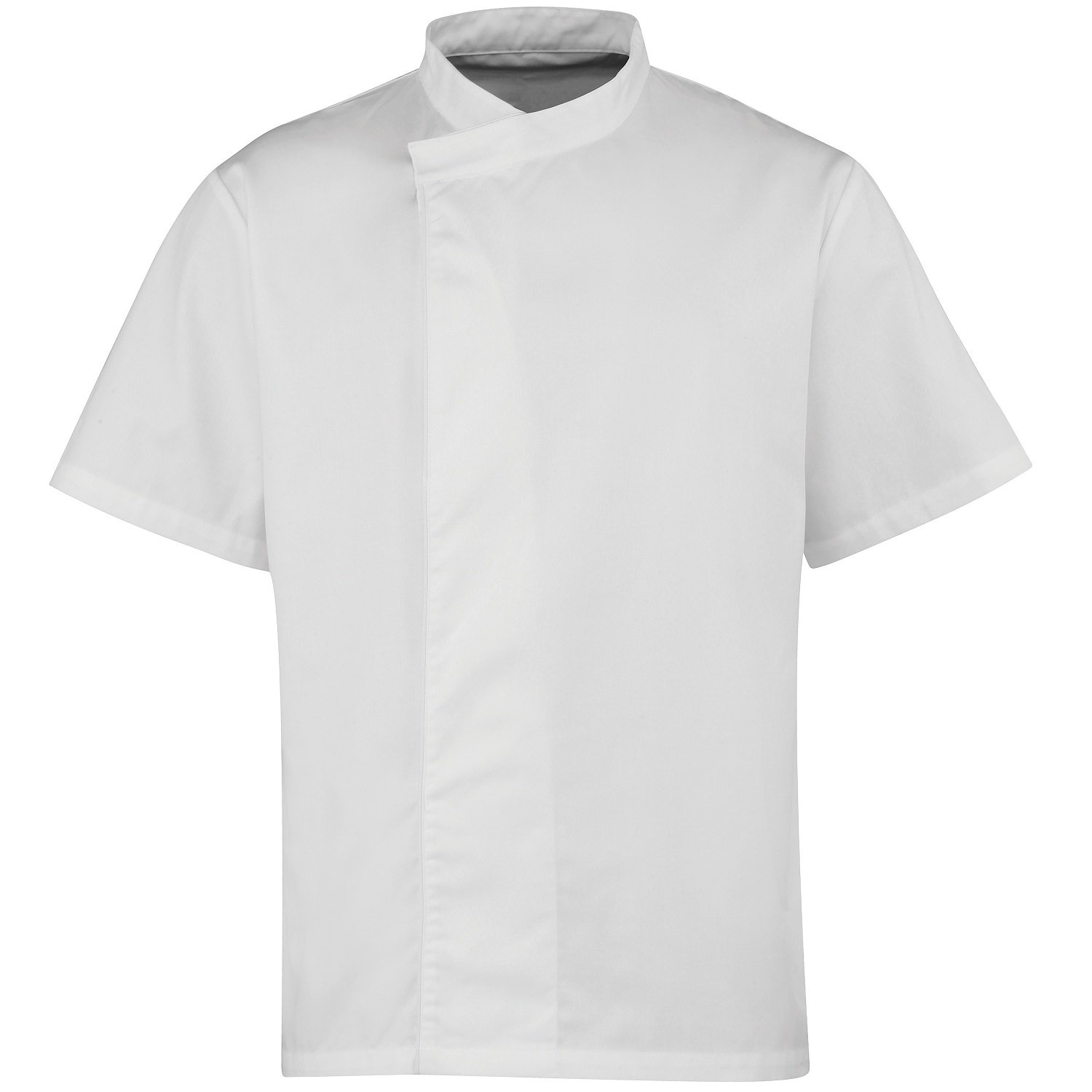Premier Culinary Pull-On Short Sleeve Chef's Tunic - Size XS-2XL
