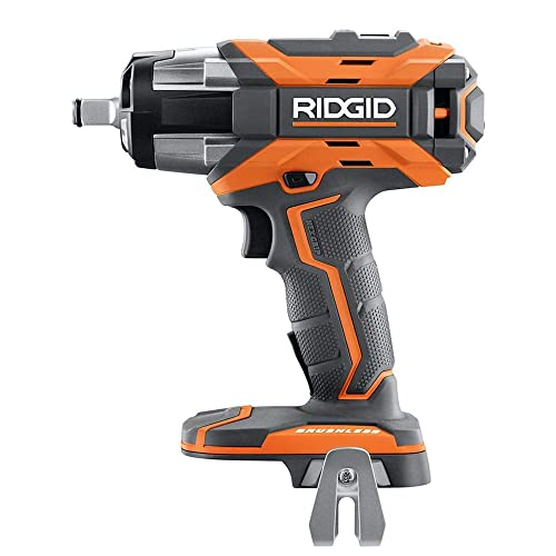 Ridgid R86011B 18V GEN5X Cordless Brushless 1 2in Impact Wrench Bare Tool Renewed