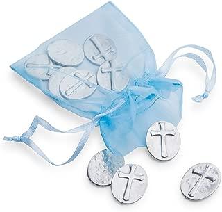 product image for DANFORTH - Vilmain Cross Pocket Tokens, Bag of 10 Pocket Coins - Pewter