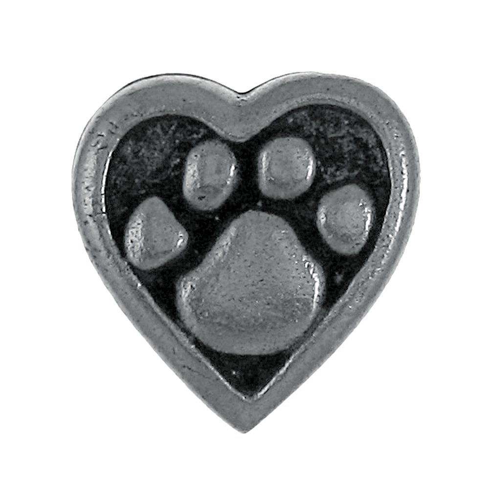 Jim Clift Design Heart and Paw Lapel Pin - 50 Count