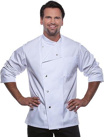 Karlowsky Chaqueta de cocinero para hombre Lars