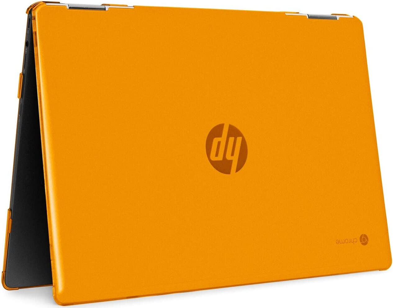 "mCover Hard Shell Case for 2020 14"" HP Chromebook X360 14b-CAxxxx Series laptops (Orange)"
