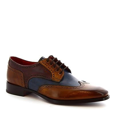 Leonardo Shoes Scarpe Francesine Artigianali da Uomo in
