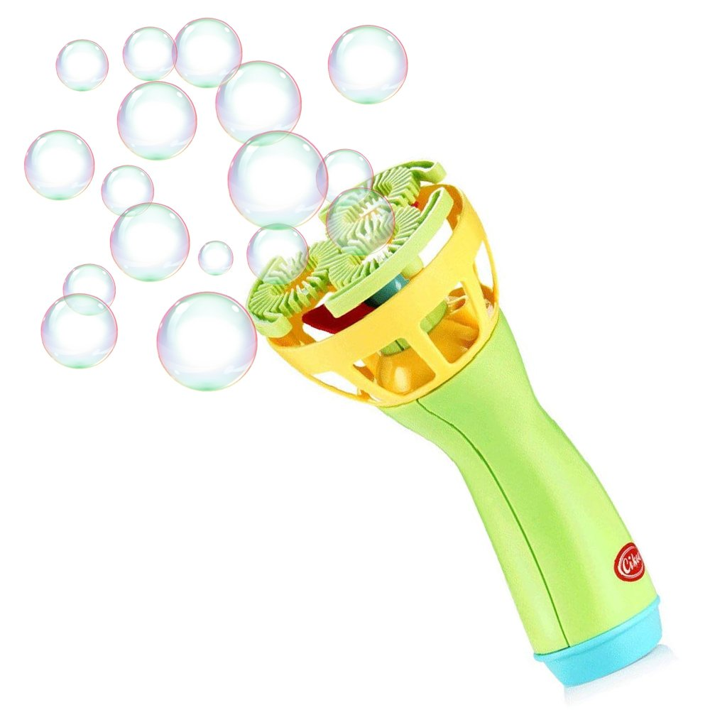 Electronic Bubble Maker Machine Bubble Blaster Set Bubble Wand Blower for Kids Suitable Outdoor Garden Toy Party Stage Weddings 1 pc
