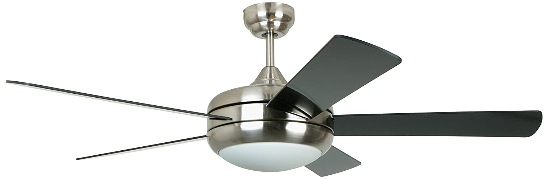 Captivating Ellington TIT52SCH5LKRCI Titan 52 Inch Ceiling Fan, Satin Chrome      Amazon.com