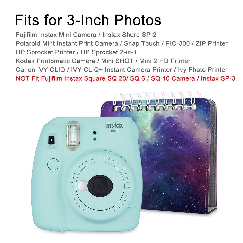 Amazon.com: Fintie - Álbum de fotos estilo calendario ...