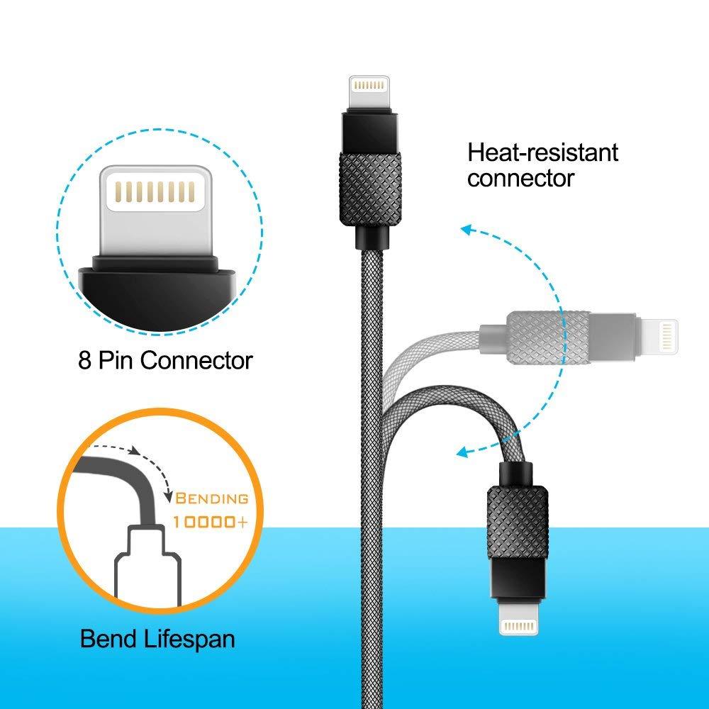 iPod Long USB Lightning Cale for iPhone 7//7 Plus//6//6S//6 Plus//6S Plus// 5S//5C iPad Apple Lightning Port Opluz 4326931800 5M// 16Ft USB Lightning Cale
