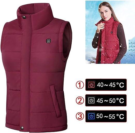 Electric Vest Heated Cloth Jacket Men Women Rechargeable Heating Coat Jacket